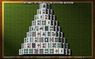 Jeu Mahjong 3D Pyramide