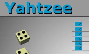 Jeu Yahtzee