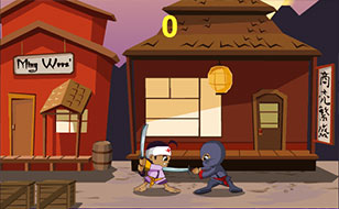 Jeu 3 foot ninja