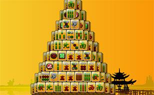 Jeu 3D Pyramid Mahjong
