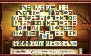 Jeu Mahjong - Secrets of Aztecs