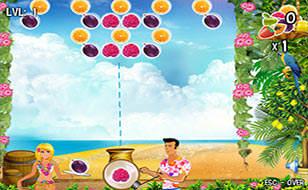 Jeu Bubble Fruit Tail