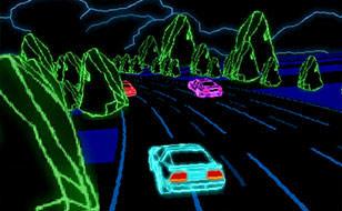 Jeu Neon Race