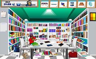 Jeu À la bibliothèque - Objets cachés