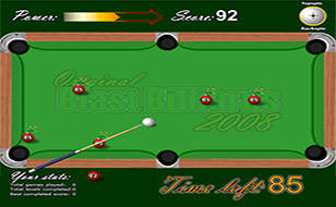 Jeu Blast Billiards 2008!