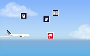 Jeu Air France - Fly Further