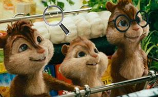 Jeu Alvin et les Chipmunks - Chiffres cachés