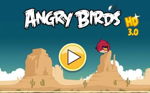 Jeu Angry Birds HD