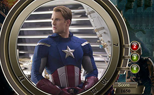 Jeu Avengers - Chiffres cachés