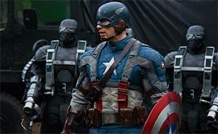 Jeu Captain America - Chiffres cachés