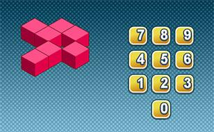 Jeu Comptez les cubes