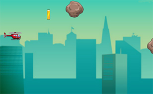 Jeu Copter Game - Meteor
