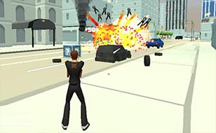 Jeu Crime city 3D