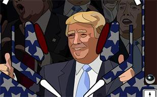 Jeu Donald Trump Pinball