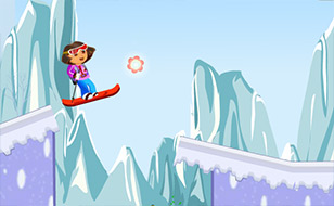 Jeu Dora Jeu de ski