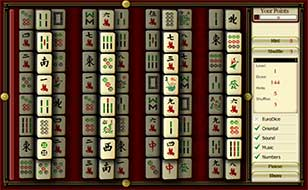Jeu Dragon Dices Solitaire Mahjong