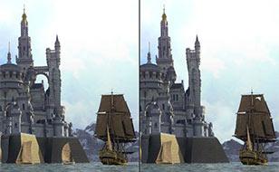 Jeu Elven castle - 5 différences