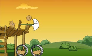 Jeu Flight of the Hamster