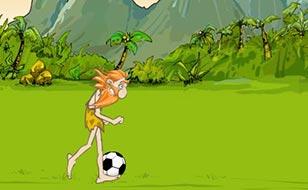 Jeu Football préhistorique