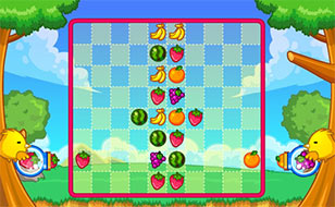 Jeu Fruit Puzzle