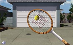 Jeu Garage Door Tennis