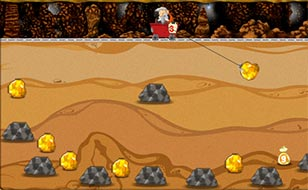 Jeu Gold miner 2