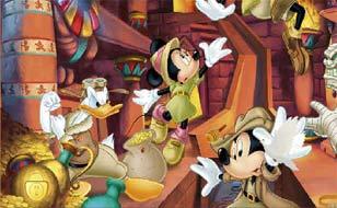 Jeu Mickey Mouse - Objets cachés