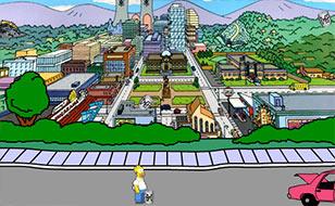 Jeu Homer`s Beer Run 2