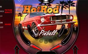 Jeu HotRod Pinball