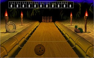 Jeu Island Bowling