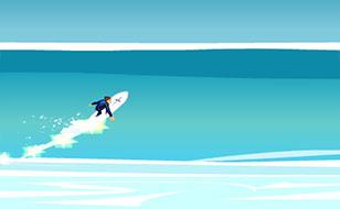 Jeu Legend of Surf