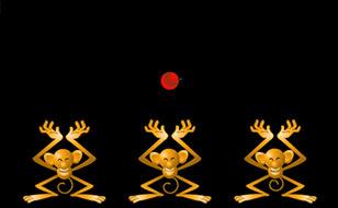 Jeu Les 3 singes
