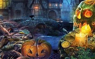 Jeu Les âmes de l'Halloween - Objets cachés