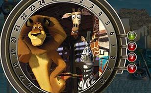 Jeu Madagascar 3 - Chiffres cachés