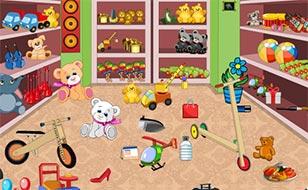 Jeu Magasin de jouets - Objets cachés