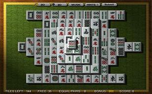 Jeu Mahjong 3D - Style classique