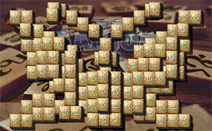 Jeu Mahjong II - Telugu