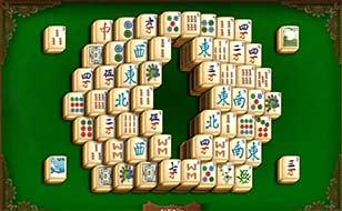 Jeu Mahjong Pyramide