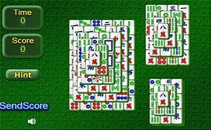 Jeu Mahjong Solitaire - Multiniveau