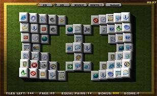 Jeu Mahjongg 3D Win XP Tiles