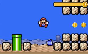 Jeu Mario`s Time Attack