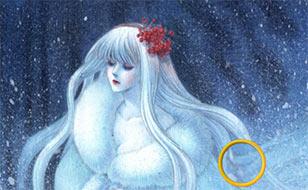 Jeu Neige fantaisie - Étoiles cachées