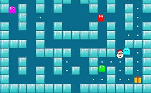 Jeu Noël Pacman