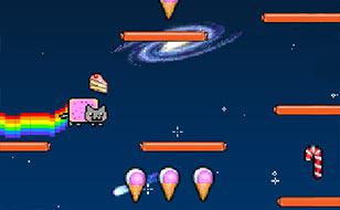 Jeu Nyan Cat Lost In Space