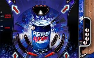 Jeu Pepsi Max Pinball