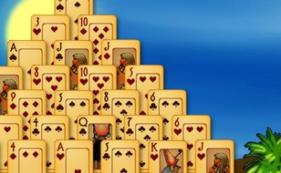 Jeu Pyramid Solitaire Ancient Egypt