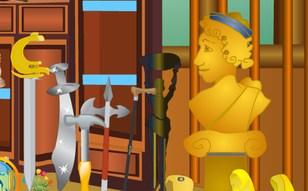 Jeu Salle antique - Objets cachés