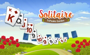 Jeu Solitaire TriPeaks Garden