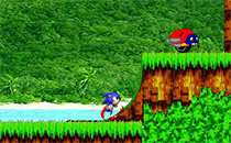 Jeu Sonic in Angel Island