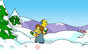 Jeu Springfield Snow Fight